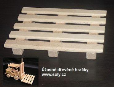 Drevené palety pre vysokozdvižný vozík | jaštericu