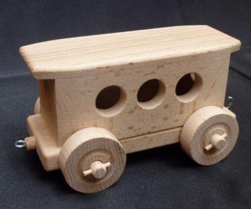 Náhradný vagón k vláčiku