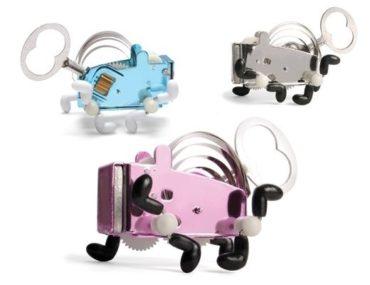 PEA mechanické plechové hračky na kľúčik pre děti