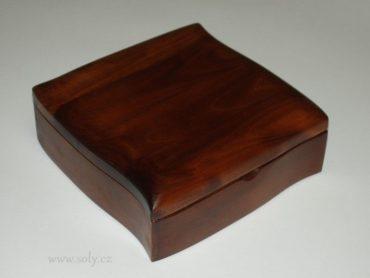 Šperkovnica tmavá | Drevené šperkovnice a krabičky na šperky