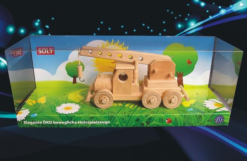 Žeriav, autožeriav | drevená hračka |drevený darčekrevene-hracky