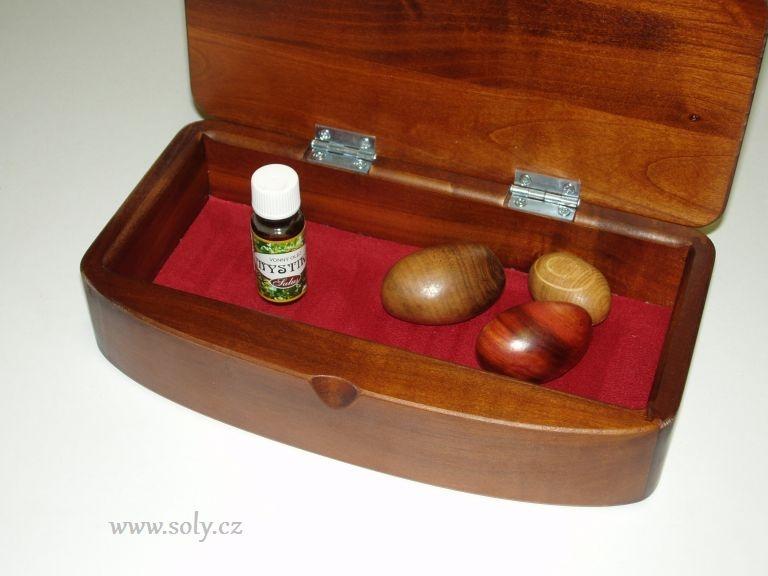 Drevené šperkovnica z tmavého dreva | krabičky na šperky