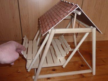 Hojdačka z dreva | drevené hračky