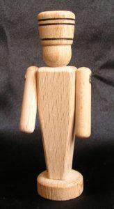 Vojáčik z dreva 9 cm - drevené hračky a suveníry