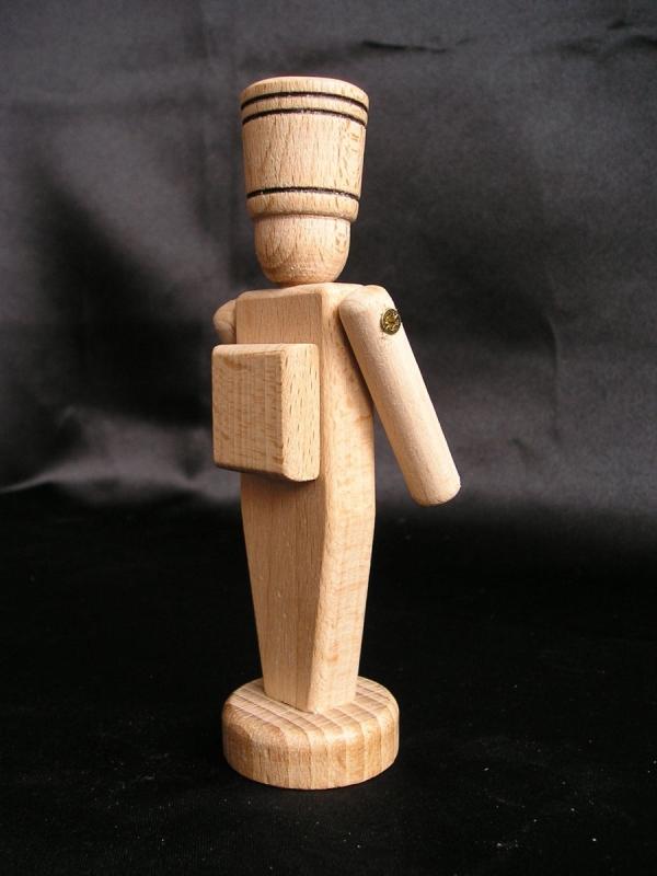 Drevený vojačik – hračky z dreva 12 cm.