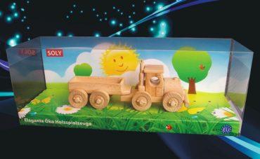 Drevená hračka | darček kamión | truck | TIR s odpojiteľným prívesom