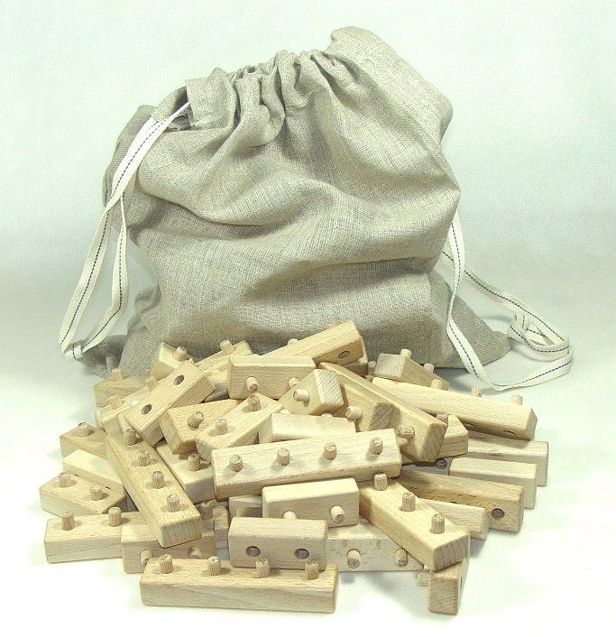 Drevené skladacie kocky | drevená hračka