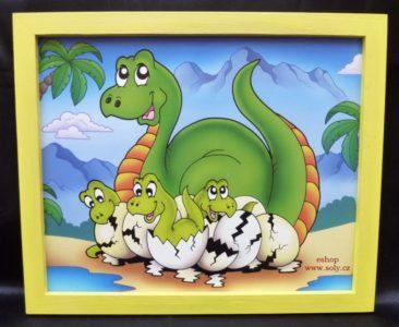 Brontosaurus | detské maľované obrázky na stenu