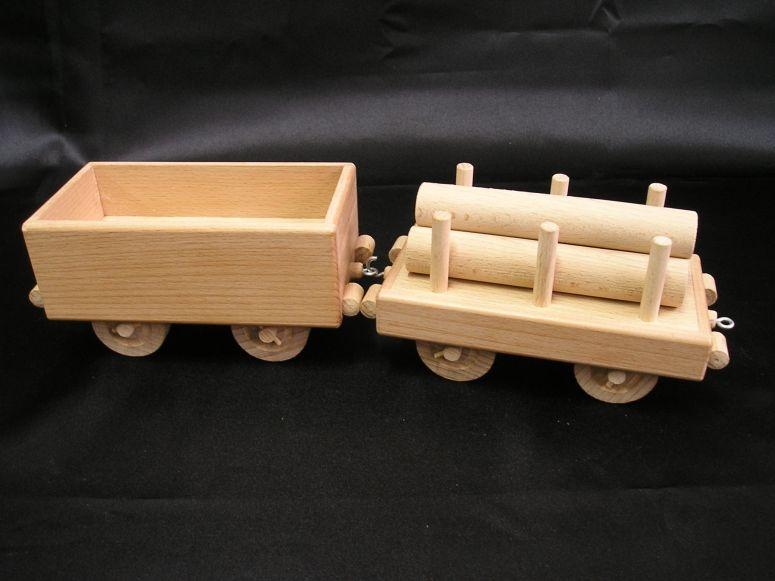 Nákladný vagón pre parnú lokomotívu | drevené hračky tive-nejoblibenejsi-hracky-pro-deti