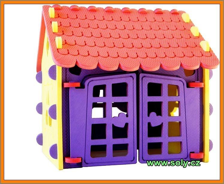 Penový domček stavebnica | bezpečné a zdravé hračky českej výroby
