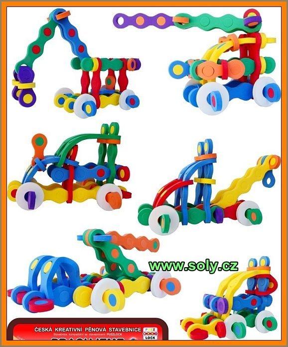 Stavebné stroje stavebnice | bagr, žeriav, buldozer hračka pre detihracky