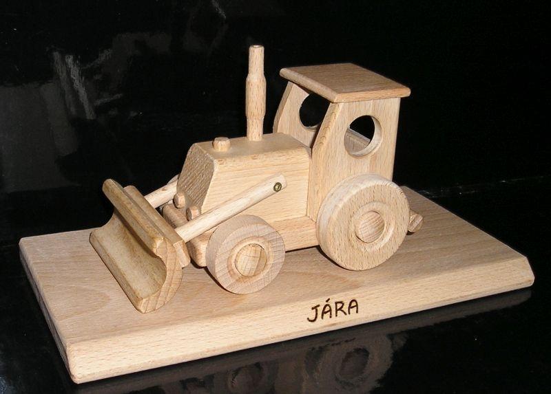 Traktor drevené hračky | drevené darčeky