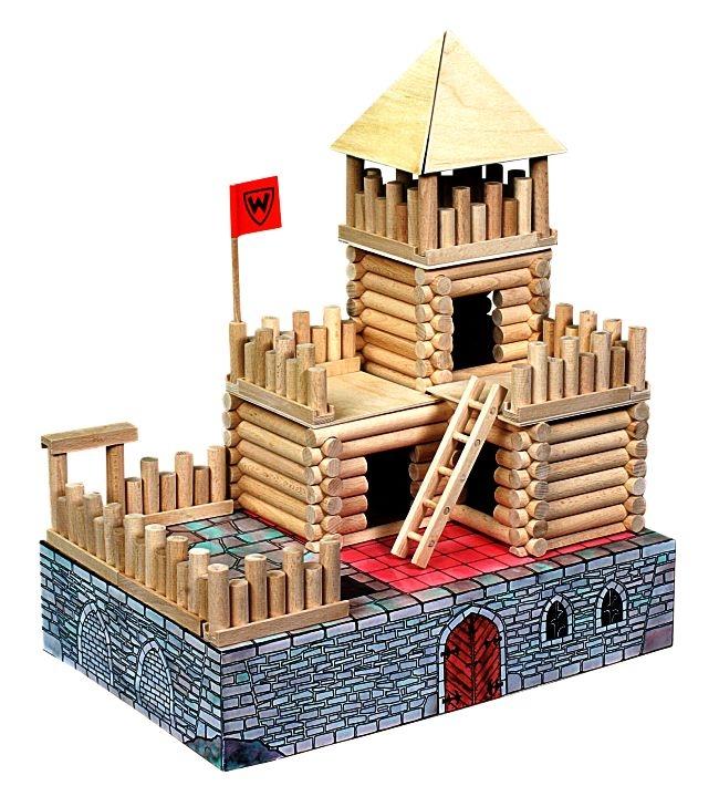 Pevnosť Hrad | Drevená stavebnica pre detievnost-budovy