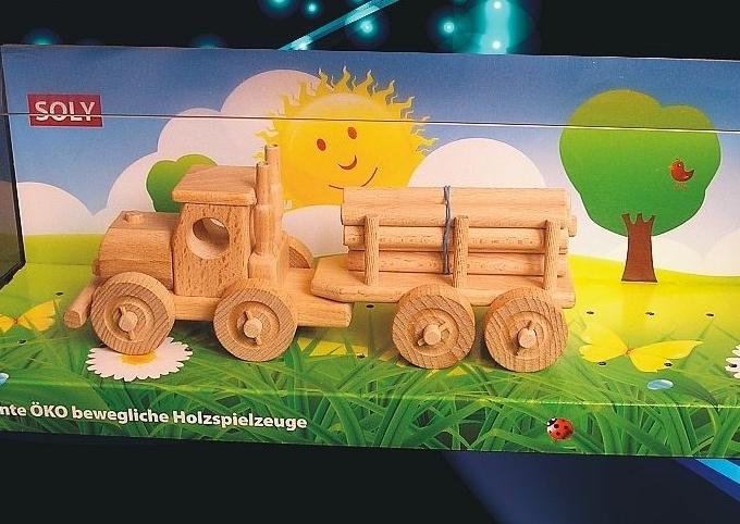 TIR kamión, nákladné auto | drevená hračkacky