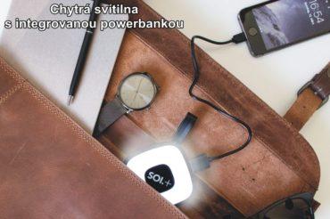 Svietidlo do DÁMSKE KABELKY a powerbankou v1 | 2000 mAh