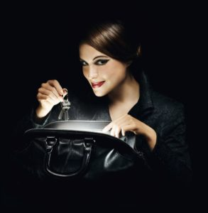 Svietidlo, LED lampička pre dámsku kabelku   PRAKTICKÉ DARČEKY PRE ŽENY