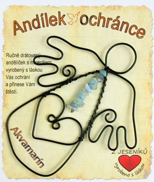 Anjelik ochranca | kameň