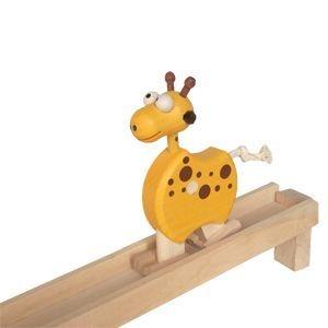 Žirafa drevené chodiace zvieratko, drevená hračka