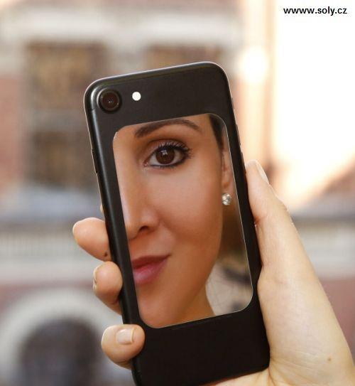 Praktické elastické zrkadlo na mobil, stále po rukeelky