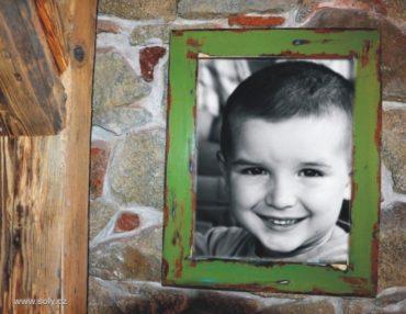 30x40 cm Veľký drevený retro rám na obraz, rámček, fotorám