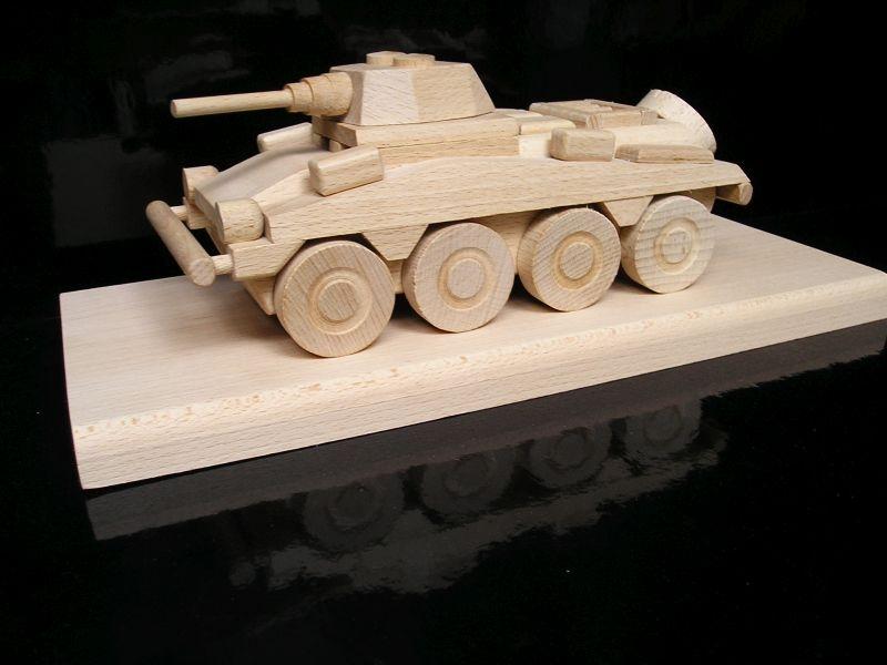 Obrnený kolesový transportér PUMA | drevené darčeky hračky