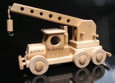 Žeriav   autožeriav   hračka   drevené darčeky a hračky