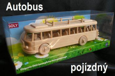 Hračky autobus | drevené darčeky a hračky