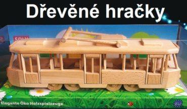 Električka hračka | drevené darčeky a hračky