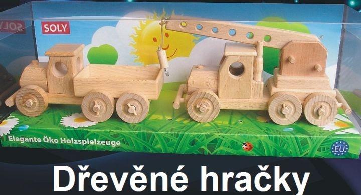 Auto Žeriav   drevené darčeky a hračky