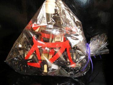 pre cyklistov, fľaša, sklo, sklenené darčeky | bicykel