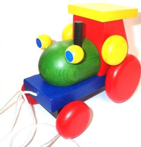 Traktor pre chlapcov, dieta drevené hračky