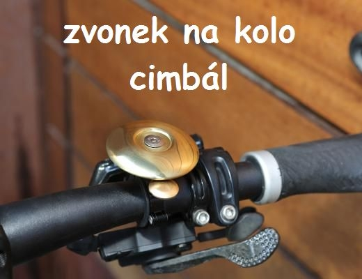 Zvonček na bicykel cimbal | darčeky pre cyklistov