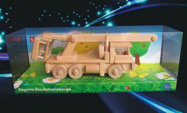 ysokozdvižná plošina | vozidlo drevený darček, hračka.