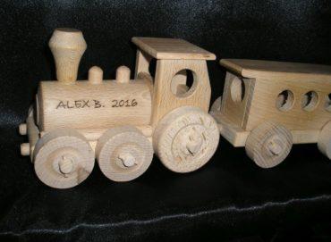 Drevené vláčiky pre najmenšie deti   drevená hračka   drevené darčeky