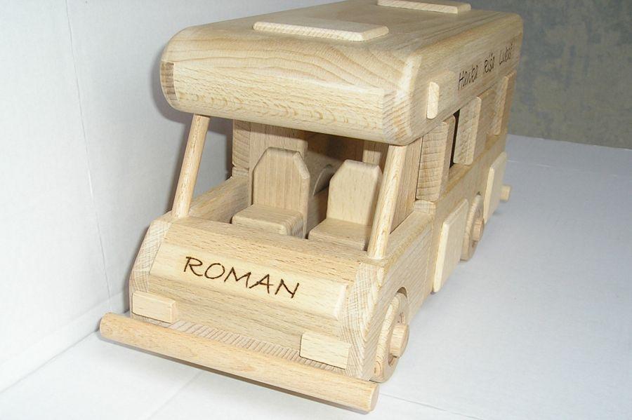 Karavan na podstave | obytný voz | drevený darček