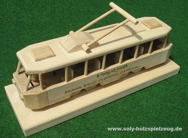 električky | drevené darčeky pre vodičov, drevená tramvaj hračka