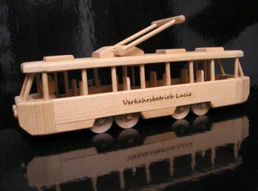 Električka drevené hračky | tramvaj drevené darčeky