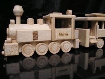 Detský vláčik pre chlapcov | drevené darčeky | drevená hračka