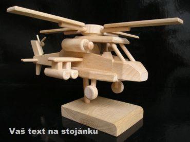 Vojenský vrtuľník, drevený darček | drevené darčeky a hračky