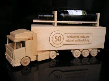 50. narodeniny vodiča trucku