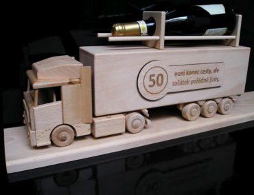 Darček pre kamionistu, kamion