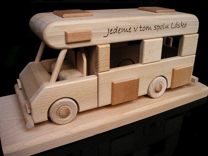 Karavan obytný voz, darček svatobný