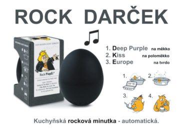 Vaječná minútka, varič vajec BeepEgg ROCK melódie