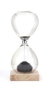 Magnetické presýpacie hodiny - 1 minúta, hračky pre deti