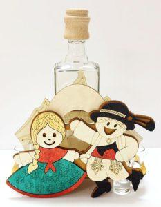 Svadobný dar fľaša tanečník