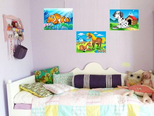 Detské obrázky na stenu do izbičky