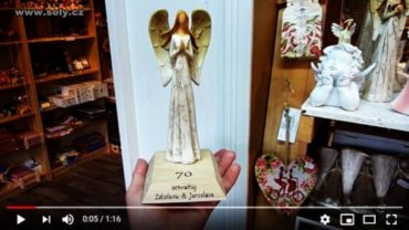 Strážny anjel   sošky soška figúrka darčeky