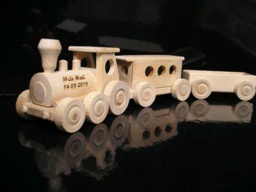 Drevené vláčiky pre najmenšie deti | drevená hračka | drevené darčeky