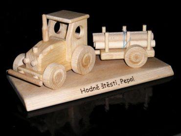 traktor | drevené darčeky pre vodičov trakory