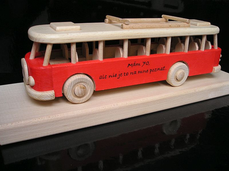 Autobus, darček pre vodiča